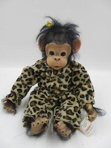 Ashton Drake Galleries Little Ubu Baby Monkey Cindy Sales Silicone Doll (C864)