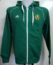 RAPID VIENNA GREEN FULL ZIP HOODY BY ADIDAS SIZE MEN'S SMALL BRAND NEW WITH TAGS