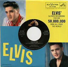 "ELVIS PRESLEY  ""STUCK ON YOU""    CLASSIC     RED VINYL  LISTEN"