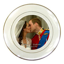 Prince William and Catherine / Will and Kate Royal Wedding Porcelain Plate Rare!
