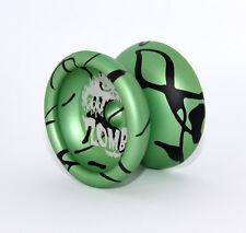 Profi Alu Yoyo Jojo  Zombie von Aero-Yo / Aluminium / Green