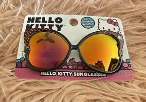 Hello Kitty Sanrio Kids Fashion Sunglasses 100% UV Protection New