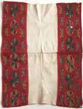 RARE antique ALBANIA apron, tapestry weave