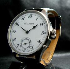 Luxury Mens Gift Tavannes Antique 1920's Large Steel Watch Porcelain Dial