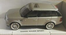 RASTAR RANGE ROVER SPORT SILVER 1:43 SCALE DIECAST MODEL CAR LAND ROVER TOY