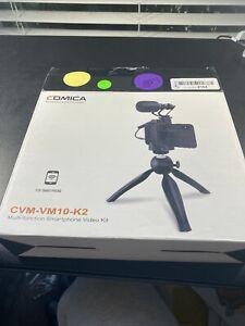 Comica Smartphone Video Kit CVM-VM10-K2 iTripod with Microphone Rig for iPhone(B