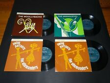 "20 x FOLK EP 7"" THE WOOLYBACKS GREENSLEEVES + EFDSS + HMV  UK 1st VG NM 50s 70s"