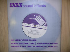 """BBC Sound Effects 7"""" Record - Victoria & Euston Stations, London, Rush Hour"""