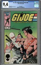 G.I. Joe, A Real American Hero #52 CGC 9.4 NM WHITE PAGES