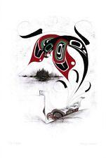 The Eagle Danny Dennis Art Card Tsimshian Northwest Coast Native