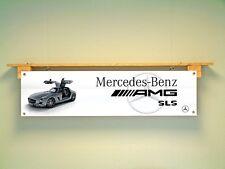 Mercedes Benz AMG Banner SLS Car Workshop Garage sign
