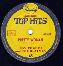 RAY PILGRIM & BEATMEN Pretty Woman / JOAN BAXTER The Wedding 45 - Golden Fleece