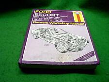 FORD ESCORT 1980 - 1990 USED HAYNES WORKSHOP MANUAL