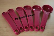 Tupperware Measuring Spoons Set 6 New