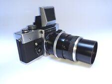 Exakta RTL 1000 Gehäuse Spiegelreflexkamera SLR Kamera Camera Sonnar 4/135 Lens