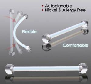 Bioplast Maternity Pregnancy Belly Bar Industrial Scaffold Retainer Flex Clear