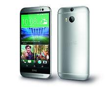 HTC ONE M8 ARGENTO SILVER GARANZIA 24 Mesi NO BRAND + FATTURA + DHL