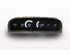 1960-1963 Chevy Truck Digital Dash Panel Gauge Cluster WHITE LED Made In The USA