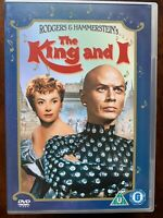The King E I DVD 1956 Rodgers & Hammerstein Musical Film Classico