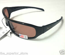 Xsportz XS51 Polarized Black Sport Sunglasses Men Sunglasses Brown Lens