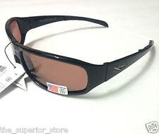 Xsportz XS51 Polarized Black Sport Sunglasses Men Sunglasses Brown Lens