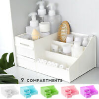 Cosmetic Holder Desk Makeup Supplies Organizer Jewelry Drawer Desktop