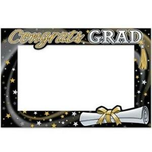 "Graduation Photo Fun Frame 15.5"" x 23.5"" Paper Graduation Party Decorations"