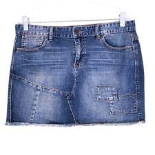 Calvin Klein Women Jeans Skirts Cotton Blue Size 8 Waist 32