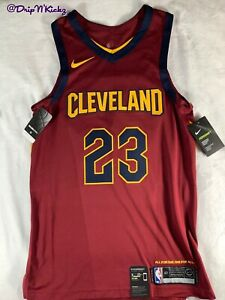 Nike Cleveland Cavaliers Lebron James Authentic Icon Jersey size 40 863018-677