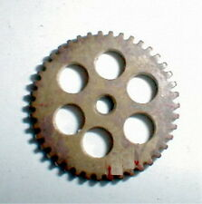 "solid 48 Tooth Super Light Brass Spur Gear 48 Pitch 1/8"" Hole NOS Slot Car #852"