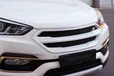 Roadruns Front Radiator Grille W/O Camera Painted For 2017+ Hyundai Santa Fe