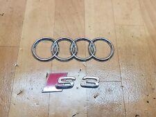 Audi S3 8L Heckemblem Emblem Schriftzug Heckklappe Facelift #9