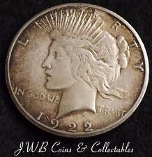 1922 USA ARGENTO PACE $1 UN DOLLARO medaglia