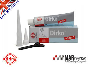 Elring DIRKO 70ml GREY Gasket Sealant Valve Covers | Sumps etc OE APPROVED