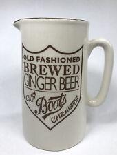 More details for vintage boots chemists ginger beer jug old fashioned brewed made england