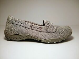 Skechers Women's Breathe Easy Good Influence Shoes, 7.5 US, Grey