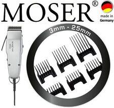 "MOSER cortapelos profesional 1400 Edición 0,1mm-25mm + 6 PEINETAS Insertables"""