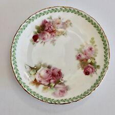 Vintage Royal Doulton Roses Pin Dish / Butter Dish - Fine China - GVC