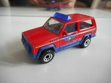 Matchbox Jeep Cherokee in Red/Blue