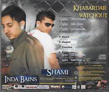 SHAMI / KHABARDAR - NEW UK BHANGRA CD - FREE UK POST