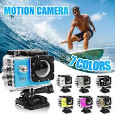 Action Camera 1080P WiFi Camcorder Waterproof DV Sports Recorder Cam Underwater