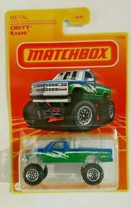 2021-Matchbox-#7/24 Chevy K1500-GWJ35-Metal Parts,Pieces-1:64-Boys-3+