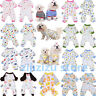 Pet Dog Pajamas Clothes Puppy Coat Jumpsuit  Apparel Cotton Cartoon Pattern Soft