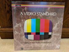 Joe Kane a Video Standard Reference Laserdisc Optimize Your A/V System Complete