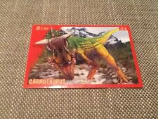 #50 Panini Dinosaurs Like Me sticker / unused / Carnotaurus