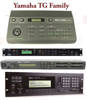 Most Sounds: Yamaha TG33, TG55, TG77, TG100, TG500