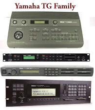 Most Sounds: Yamaha TG33, TG55, TG77, TG100, TG500