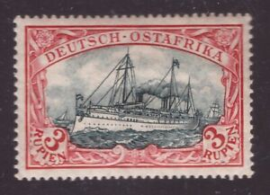 German East Africa, 1900 issue 3 rupies hinged mint       -DL80
