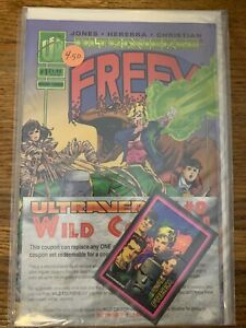 Malibu Ultraverse Comics Freex #1 (1993) Bagged with Card & Coupon Sealed Mint!!