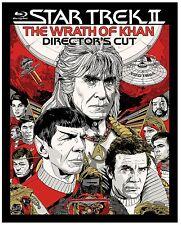 STAR TREK II : THE WRATH OF KHAN dir' cut  - BLU RAY - Region free